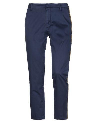 Gaëlle | Темно-синий Женские темно-синие повседневные брюки GAeLLE Paris твил | Clouty