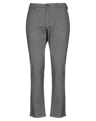 Pence | Черный; Темно-синий Мужские черные повседневные брюки PENCE фланель | Clouty