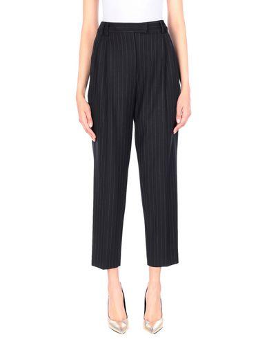 Alberto Biani | Черный Женские черные повседневные брюки ALBERTO BIANI фланель | Clouty