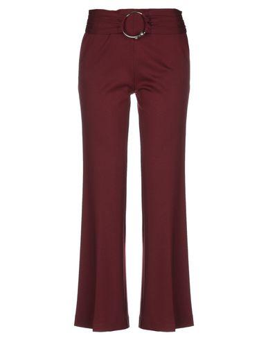 Space Style Concept   Красно-коричневый; Черный Женские повседневные брюки SPACE STYLE CONCEPT джерси   Clouty
