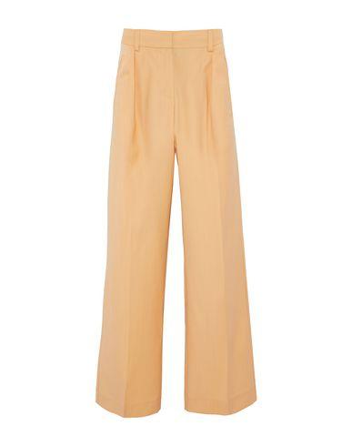 Iris & Ink | Бежевый Женские бежевые повседневные брюки IRIS & INK плотная ткань | Clouty