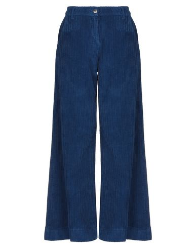 Kaos | Синий Женские синие повседневные брюки KAOS JEANS бархат | Clouty