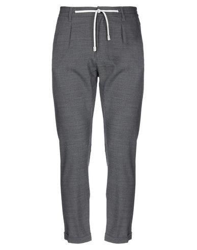 Eleventy | Стальной серый; Голубиный серый Мужские повседневные брюки ELEVENTY шерстяной муслин | Clouty
