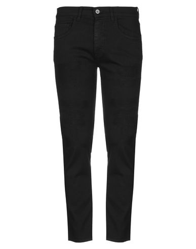 Pence | Черный Мужские черные повседневные брюки PENCE габардин | Clouty