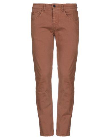 Pence | Коричневый Мужские коричневые повседневные брюки PENCE габардин | Clouty