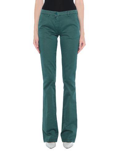 Kiton | Изумрудно-зеленый Женские повседневные брюки KITON габардин | Clouty