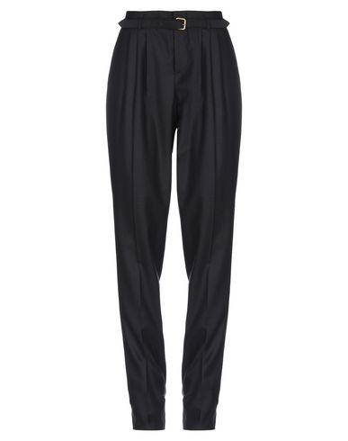 MIU MIU | Черный Женские черные повседневные брюки MIU MIU фланель | Clouty