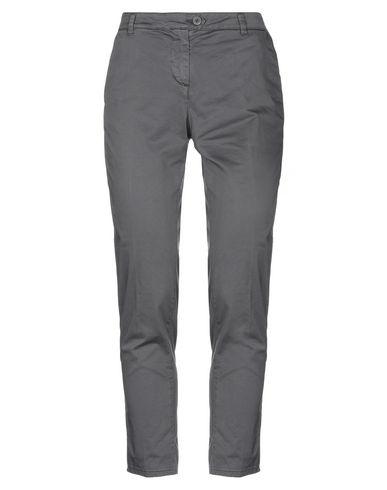 Happy25 | Свинцово-серый Женские повседневные брюки HAPPY25 плотная ткань | Clouty