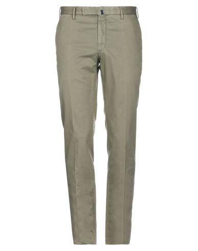 Incotex | Зеленый-милитари Мужские повседневные брюки INCOTEX плотная ткань | Clouty