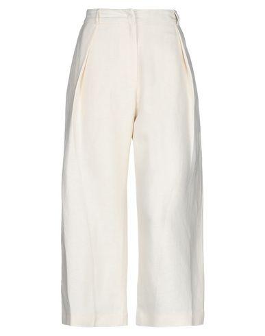 Gaëlle   Слоновая кость Женские повседневные брюки GAeLLE Paris твил   Clouty