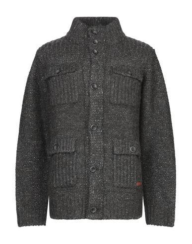Pepe Jeans Heritage | Мужской серый кардиган PEPE JEANS HERITAGE вязаное изделие | Clouty