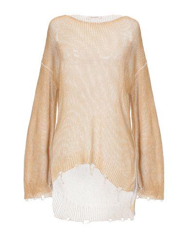 Floor | Женский песочный свитер FLOOR вязаное изделие | Clouty