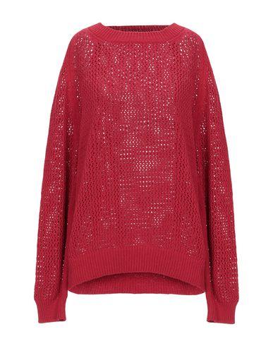Base | Кирпично-красный Женский свитер BASE вязаное изделие | Clouty