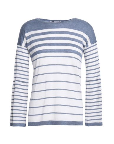 Autumn Cashmere | Грифельно-синий; Черный Женский свитер AUTUMN CASHMERE вязаное изделие | Clouty