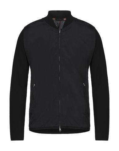 Phil Petter | Мужской черный кардиган PHIL PETTER плотная ткань | Clouty