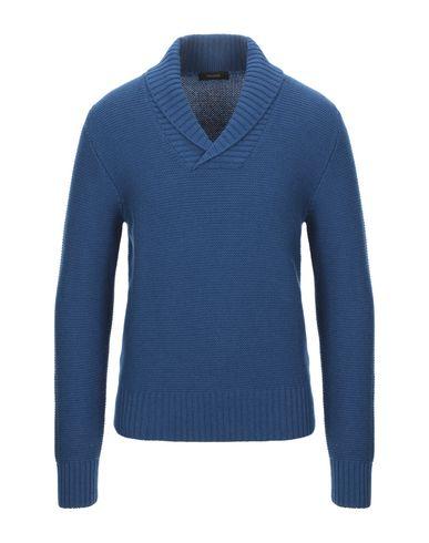Falcone | Мужской синий свитер FALCONE вязаное изделие | Clouty