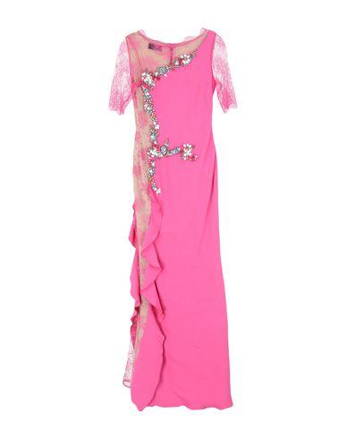 Clips | Розовый Розовое длинное платье CLIPS кружево | Clouty