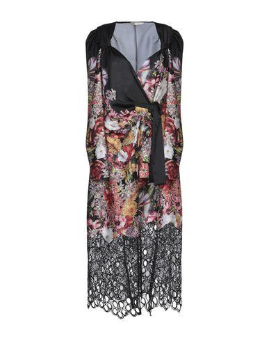 Lucille | Черный Черное платье длиной 3/4 LUCILLE кружево | Clouty