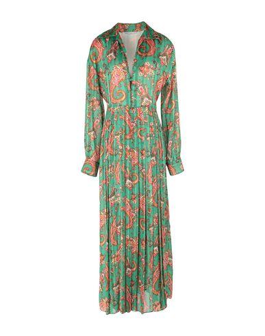 Philosophy di Lorenzo Serafini | Зеленый Зеленое длинное платье PHILOSOPHY di LORENZO SERAFINI шифон | Clouty