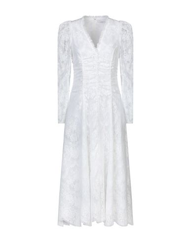 Erdem | Белый Белое платье длиной 3/4 ERDEM кружево | Clouty