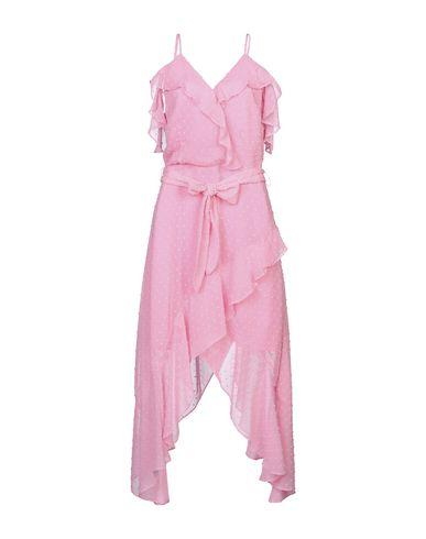 Silvian Heach | Розовый Розовое короткое платье SILVIAN HEACH креп | Clouty