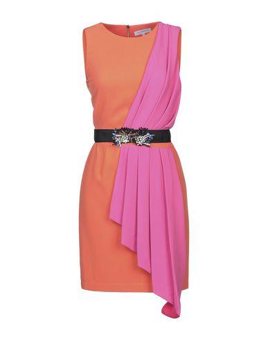 Silvian Heach | Оранжевый Оранжевое короткое платье SILVIAN HEACH креп | Clouty