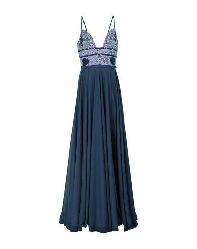 FABIANA FERRI | Синий Синее длинное платье FABIANA FERRI тюль | Clouty