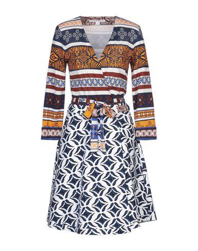 Diane Von Furstenberg | Белый Белое платье до колена DIANE VON FURSTENBERG плотная ткань | Clouty