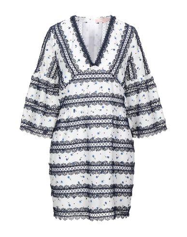 Valerie Khalfon | Темно-синий Темно-синее короткое платье VALERIE KHALFON кружево | Clouty