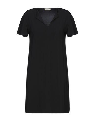 Siyu | Черный Черное короткое платье SIYU джерси | Clouty