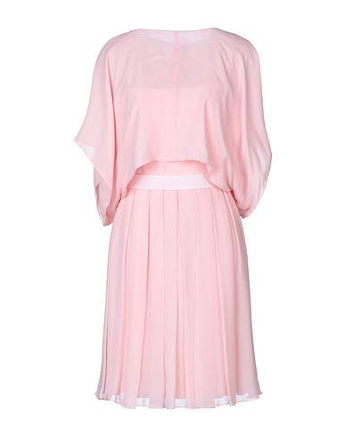 Max Mara Pianoforte   Розовый Розовое платье до колена PIANOFORTE di MAX MARA креп   Clouty