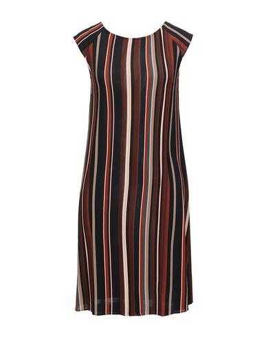 Siyu | Коричневый Коричневое короткое платье SIYU джерси | Clouty