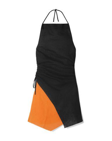 MARQUES'ALMEIDA | Черный Черное короткое платье MARQUES' ALMEIDA плотная ткань | Clouty