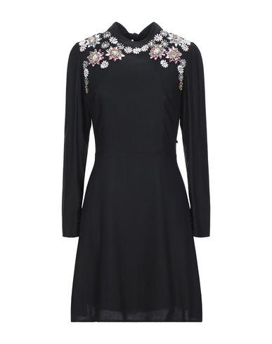 Silvian Heach | Черный Черное короткое платье SILVIAN HEACH твил | Clouty