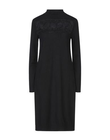 Tenax   Черный Черное платье до колена TENAX кружево   Clouty