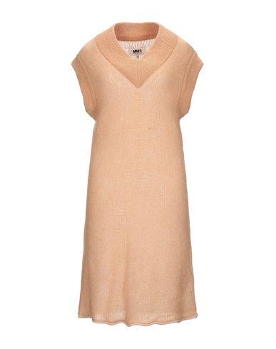 MM6 Maison Margiela | Верблюжий Верблюжье платье до колена MM6 MAISON MARGIELA вязаное изделие | Clouty
