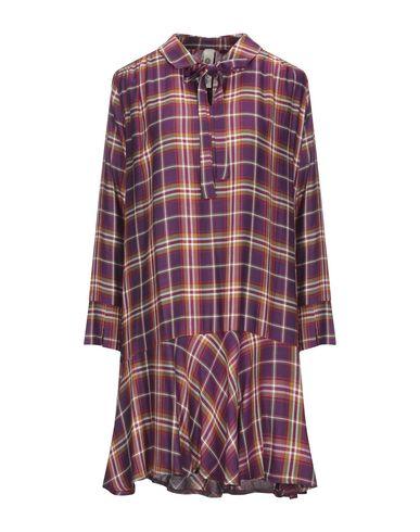Empathie | Фиолетовый Фиолетовое короткое платье EMPATHIE плотная ткань | Clouty