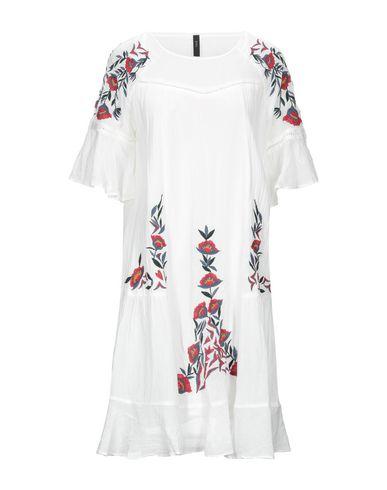 Y.A.S. | Белый Белое платье до колена Y.A.S. плотная ткань | Clouty