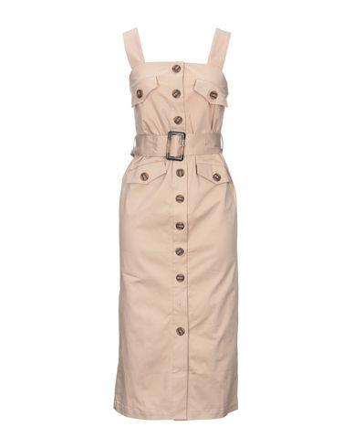 Y.A.S. | Светло-коричневый Платье до колена Y.A.S. плотная ткань | Clouty