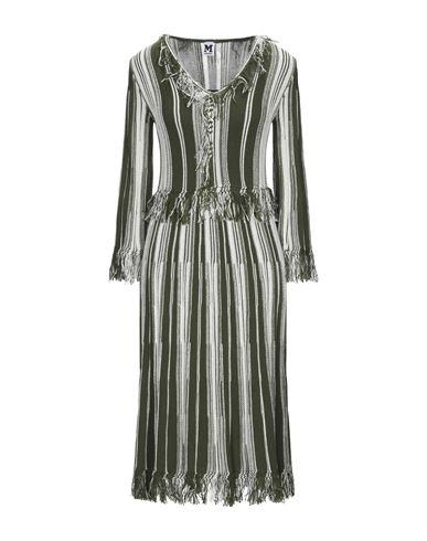 M Missoni   Белый Белое платье длиной 3/4 M MISSONI вязаное изделие   Clouty