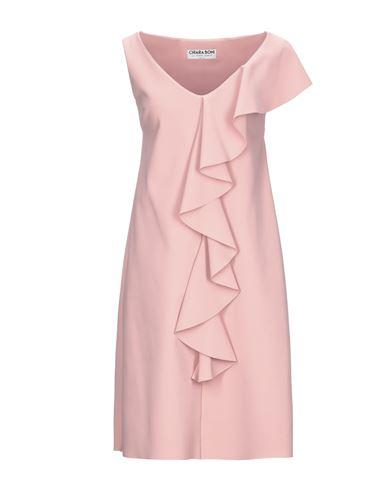 Chiara Boni La Petite Robe | Пастельно-розовый Короткое платье CHIARA BONI LA PETITE ROBE джерси | Clouty