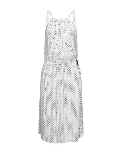 Twinset | Белый Белое платье до колена TWINSET креп | Clouty
