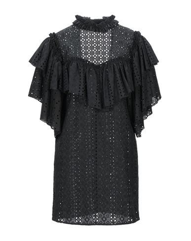 Circus Hotel | Черный Черное короткое платье CIRCUS HOTEL плотная ткань | Clouty