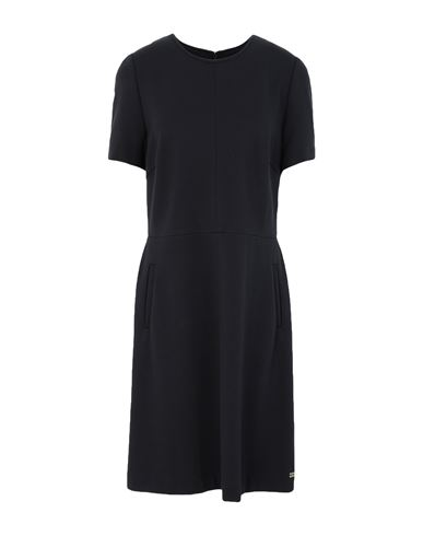 TOMMY HILFIGER | Черный Черное короткое платье TOMMY HILFIGER джерси | Clouty