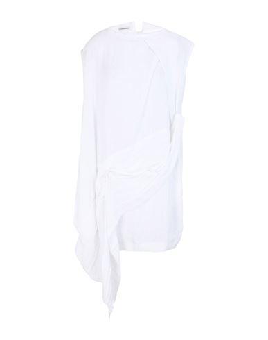 Stefano Mortari | Белый Белое короткое платье STEFANO MORTARI плотная ткань | Clouty