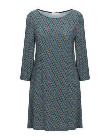 Siyu | Цвет морской волны Короткое платье SIYU джерси | Clouty