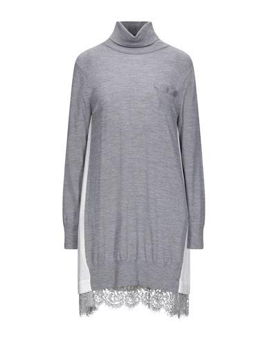 Sacai   Серый Серое короткое платье SACAI кружево   Clouty