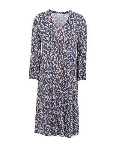 Siyu | Темно-синий Темно-синее короткое платье SIYU джерси | Clouty