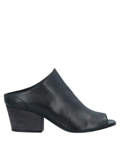 Stelio Malori | Черный Женские черные сандалии STELIO MALORI кожа | Clouty