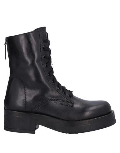 Stelio Malori | Черный Женские черные полусапоги и высокие ботинки STELIO MALORI кожа | Clouty